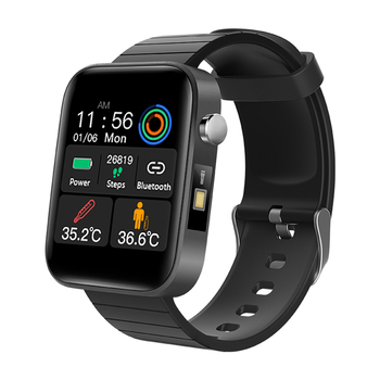 T68 Smart Watch with Body Temperature Measure Sport Fitness Watches Heart Rate Blood Pressure Oxygen Monitoring Smart Wristband