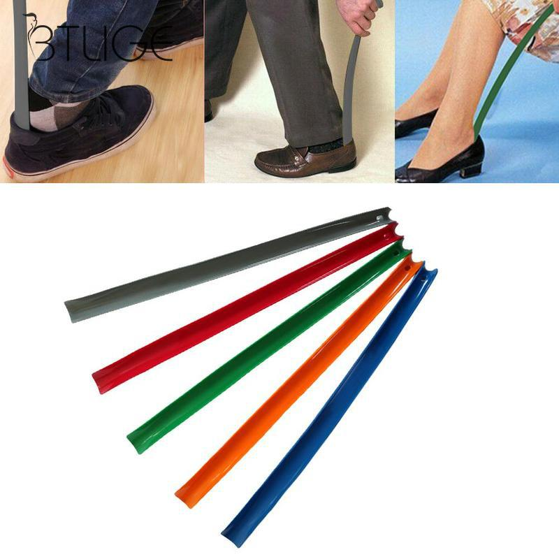 Professional Shoe Horn Flexible Long Handle Shoehorn Useful Shoe Lifter Professional Shoe Spoon