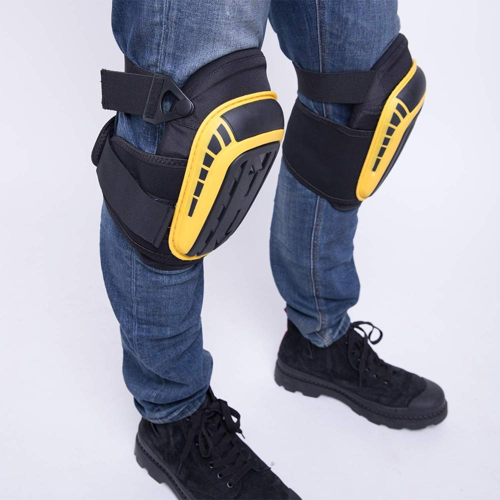 Gel Knee Pads for Gardening and Sports for Professional Heavy Duty Work with High Density EVA Foam Suitable for gardening and Construction Work 5