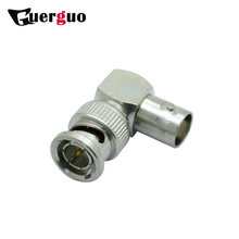 RIGHT ANGLE BNC MALE TO BNC FEMALE Connector