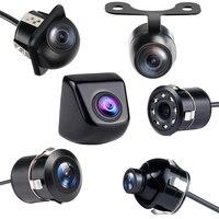 ir led Car Rear View Camera 4 LED Night Vision Reversing Auto Parking Monitor CCD Waterproof Degree IR HD Video Universal Backup Camera (1)