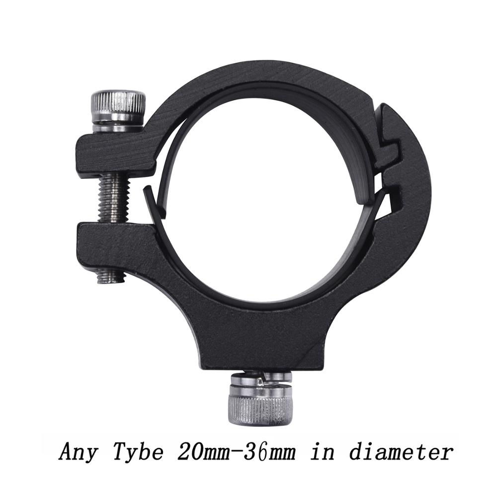 LDDCZENGHUITEC Aluminum Bicycle Light Holder Electric Motorcycle Clamp Flashlight Clip Led Headlight Rotary Clamp