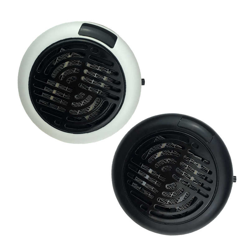 Mini ventilateur électrique de chauffage, 220 V, ventilateur de bureau, ventilateur chaud de chauffage d'air pour le bureau à domicile, chauffage d'air pratique, salle de bain, ventilateur chauffant pour radiateur