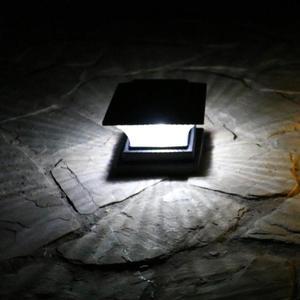 Image 5 - שמש LED עמוד אור חיצוני הודעה מנורת ABS חיובי לבן/חם אור NiMH 1.2V עמיד למים גדר אורות עבור גן חצר