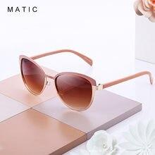Matic розовые винтажные кошачьи глаза солнцезащитные очки для