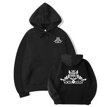 Hoodie Men Black Sweatshirt Casual Crewneck Sweatshirts 2018 New Brand Winter Autumn Fleece Warm Hoody Clothing streetwea