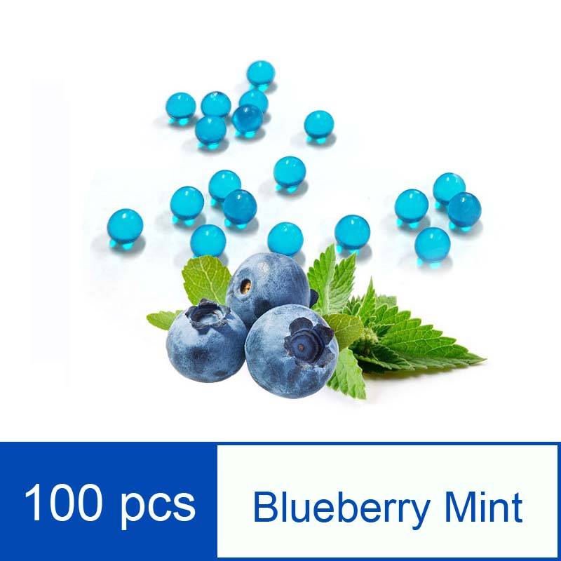 100pcs Fruit Taste Beads Cigarette Granule Disposable Tobacco Cigarette Filter Cigarette Blasting Beads Wholesale