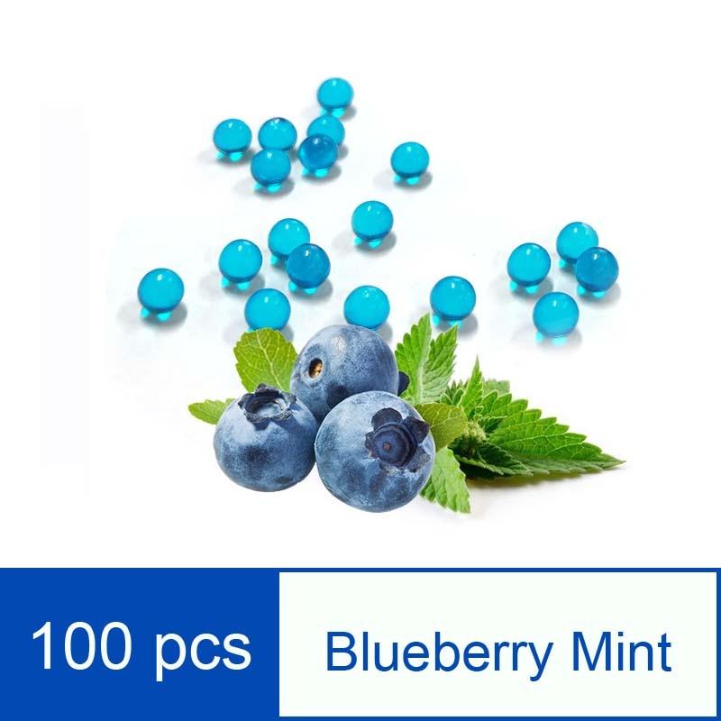 100pcs Fruit Taste Beads Cigarette Granule Disposable Tobacco Cigarette Filter Cigarette Blasting Beads Wholesale