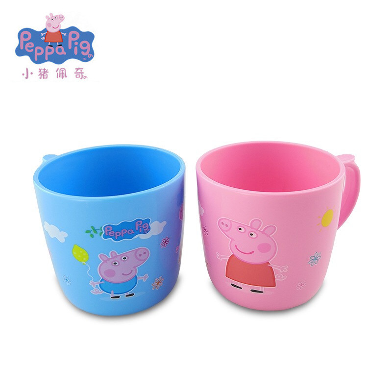 Brand New Peppa pig toys George pig Toothbrush mouthwash cup Action Figure Original Anime Toys For Kids children Christmas Gift image