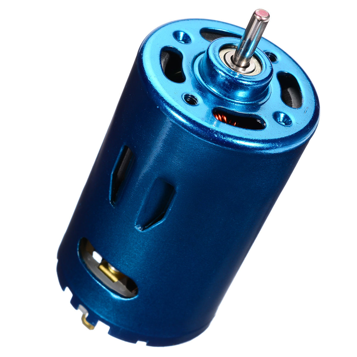 DC 12V 24V 30000RPM RS-550 Motor Electric Tool High Speed Large Torque DIY RC Car Boat Model image