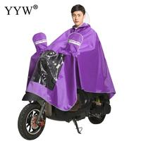 Unisex Raincoat For Motorcycle Portable Outdoor Adult Poncho Universal Rain Coat Thickened Rainwear Suit Rain Gear For Adults