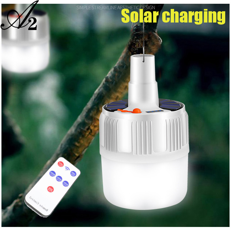 A2 Portable Lighting Portable Lanterns LED outdoor camping light Night Market Light Solar Charge Night Market Light emergency