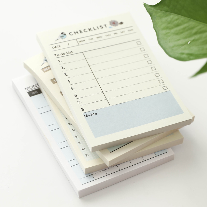 2019 Cute Kawaii Portable Pocket Notebook Weekly Monthly Book Diary Agenda For Kids Daily School Supplies Notebook Work Planner