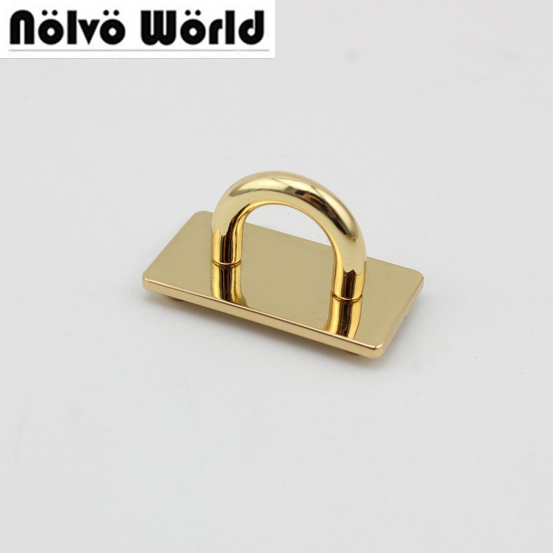10pcs 37*20mm Alloy Metal Arch Bridge Connector Hanger For Bags Belts Strap GOLD New Hardware Accessories
