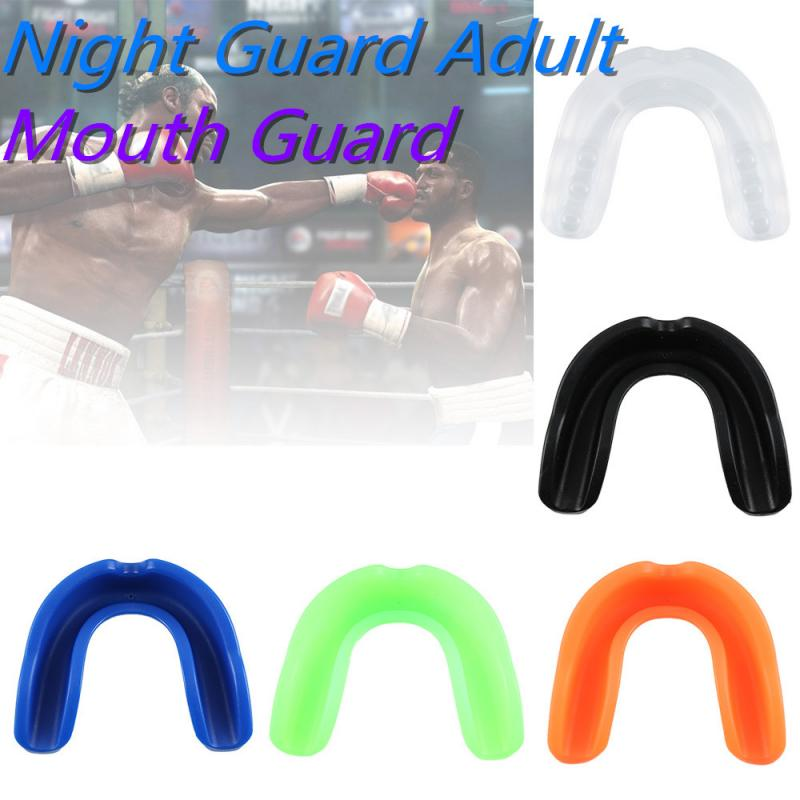Mouth Guard Night Guard Adult Mouthguard Taekwondo Muay Thai Teeth Protector Football Basketball Boxing Safe Oral Teeth Protect