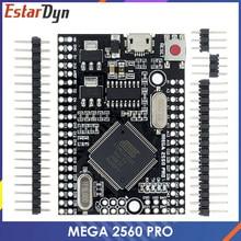 Мега 2560 PRO добавьте CH340G/ATMEGA2560-16AU чип с мужской pinheaders совместимый для arduino Mega2560