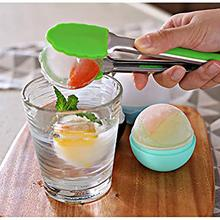 Ice cube 3D Silicone Hockey Spherical Silica Gel Maker Cube Round DIY Mold Kitchen Bar Supplies Cream Tools