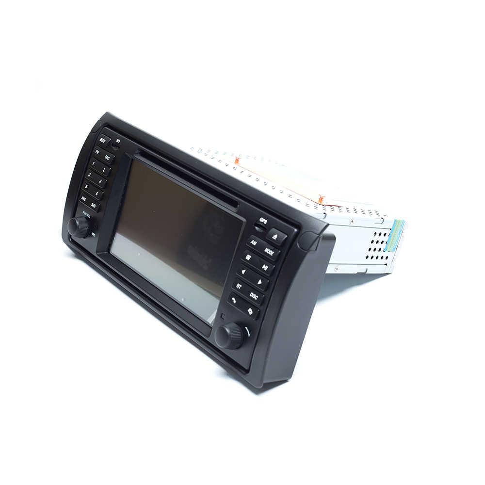 Ips dsp 8 núcleo 4 gb 64g1 din android 9.0 leitor de dvd do carro para bmw x5 e53 e39 multimídia rádio gps estéreo áudio navegação unidade principal