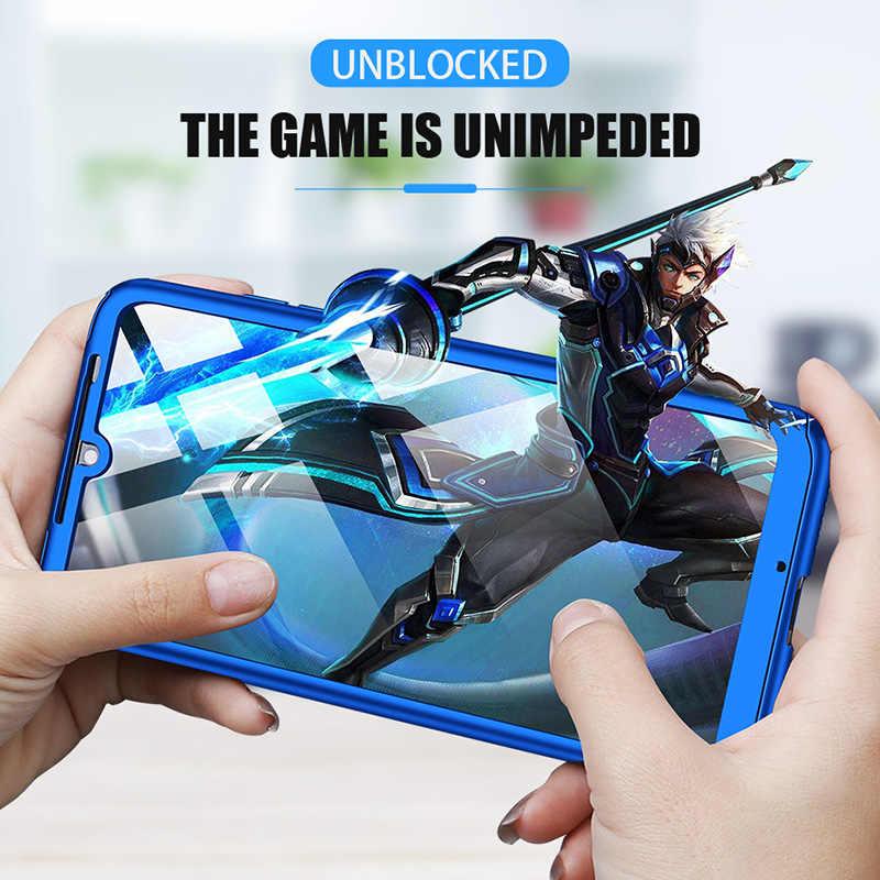 360 מלא מגן כיסוי מקרה עבור Xiaomi Redmi A2 8 9 SE S2 Y2 6X הערה 2 3 4 3S 5 5X A1 4X 4A Pocophone F1 ראש לייט לשחק מקרה