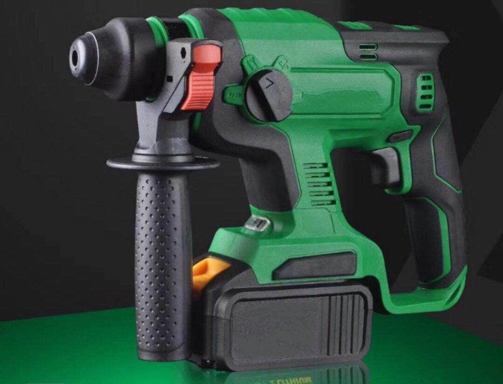Electric Cordless Brushless Samsung Battery Impact Hammer Drill (14)