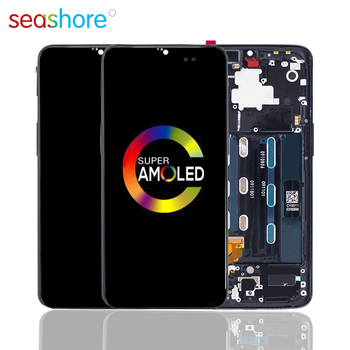 100% ORIGINAL For OnePlus 6T LCD Touch Screen Digitizer Assembly For Oneplus 6T Display with Frame Replacement 1+6T A6010 A6013 4 6original for sony xperia z3 compact lcd touch screen digitizer assembly for sony z3 mini display with frame replacement z3c
