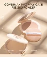 FOCALLURE-corrector mate, Control de aceite, resistente al agua y de larga duración, en húmedo y seco, compacto, crema de incrustación de maquillaje