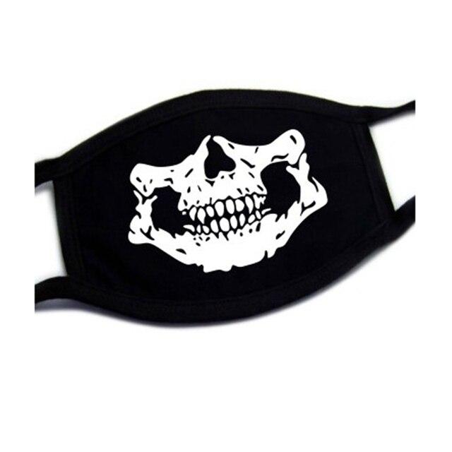 Black Cotton Dust Mask Moustache Smile Masks Mouth Teeth Mask Soft Cartoon High Quality Cartoon Expression Lady Men Marvel Masks 2