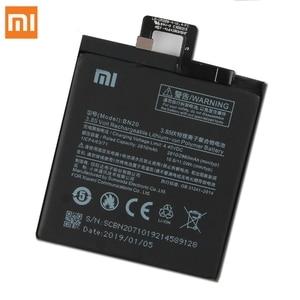 Image 5 - Xiao Mi Original Replacement Battery BN20 For Xiaomi Mi 5C M5C Authentic Phone Battery 2860mAh