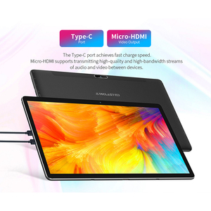 "Image 5 - Teclast M16 11.6"" Android Tablet Helio X27 Deca Core 4GB RAM 128G ROM 4G Network Tablets PC 5.0MP Docking Type C HDMI 7500mAh"