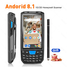 Pda Android Handheld Terminal Honeywell Barcode Scanner 1d Laser 2d Qr Draagbare Data Collector Terminal Apparaat Met Wifi 4G nfc