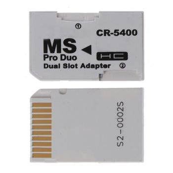 Memory Card Adapter SDHC Cards Adapter Micro SD/TF to MS PRO Duo for PSP Card X6HA