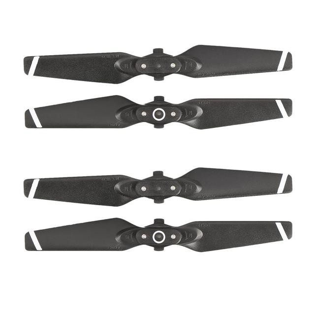 2 Pairs FPV Foldable CW CCW Propellers Replacement Blades Props for DJI Spark RC Drone Accessories Parts Kits 6