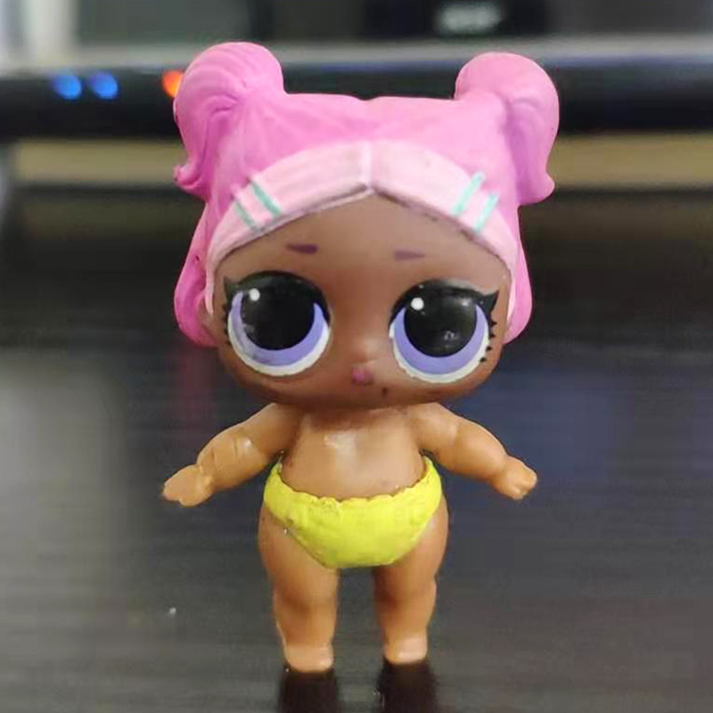 Original Lol Surprise Dolls Lil Unicorn with bag Lil Sister gift color changed