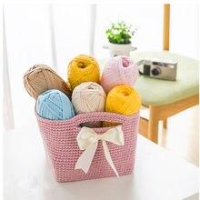 100g/pcs Fancy Yarns For Hand Knitting Thick Thread Crochet Cloth Yarn DIY Bag Handbag Carpet Cushion Cotton Cloth T-Shirt Yarn