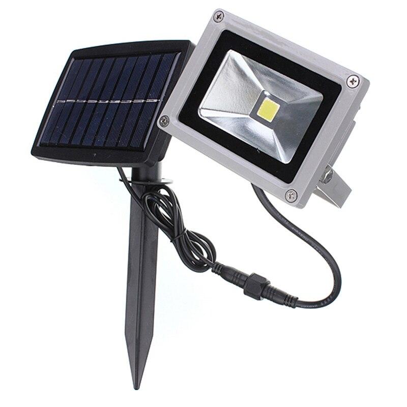 Luz Solar Holofote 10W Holofotes IP44 PureWarm