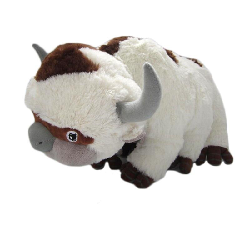 45CM 55CM Resource Appa Avatar Stuffed Animals Plush Doll Cow Toys Gift Kawaii Plush Toys Unicorn Pillow Toy