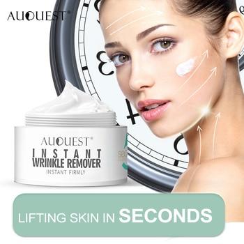 11.11 AuQuest 5 Seconds Removedor de rugas Sacos para os olhos Levantamento de pele Creme antienvelhecimento para rugas Pré-maquiagem Primer Cosme Skin Care 1