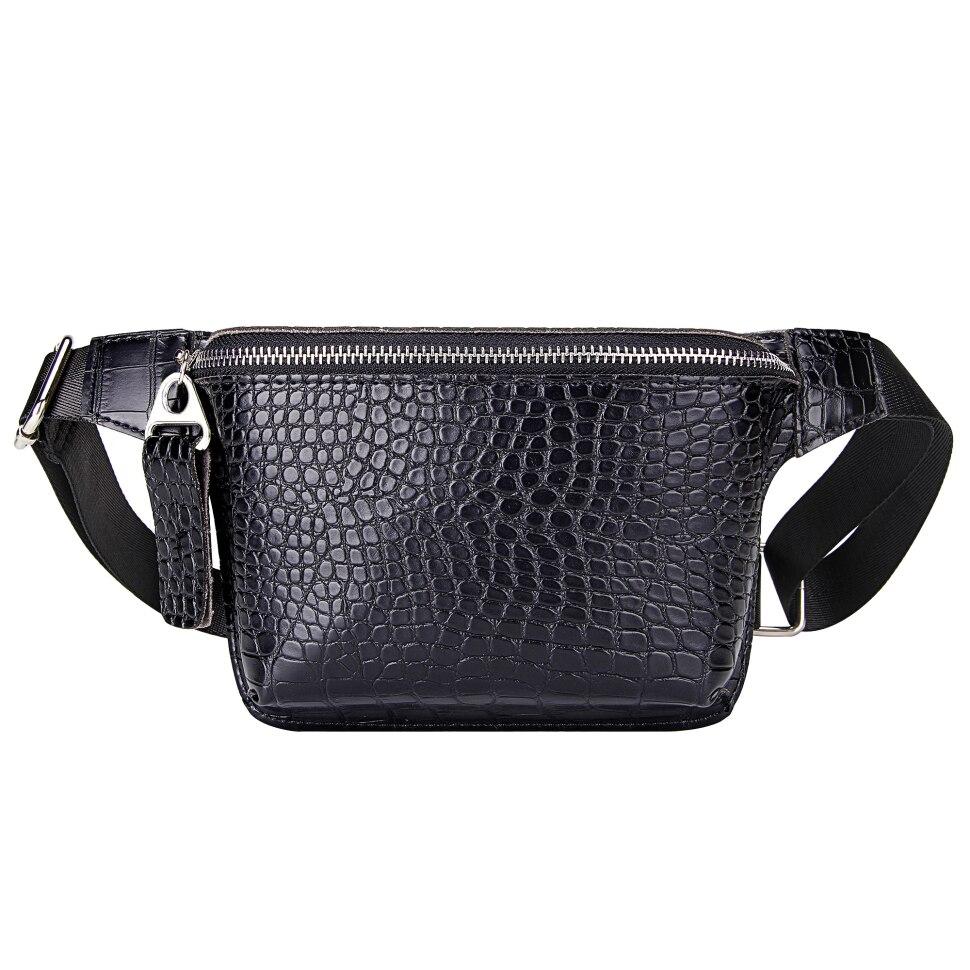 Повседневная поясная сумка для женщин, поясная сумка из кожи аллигатора, сумка для телефона, нагрудная сумка, Дамский широкий ремень, женская сумка через плечо с клапаном