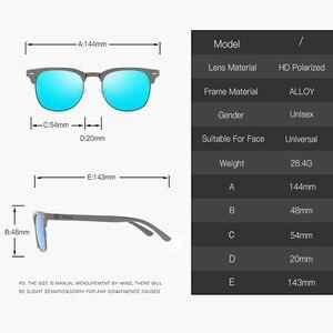 Image 2 - BARCUR الرجال النظارات الشمسية الألومنيوم الاستقطاب الذكور نظارات شمسية نظارات الكلاسيكية فاسق Gafas Oculos دي دول Masculino