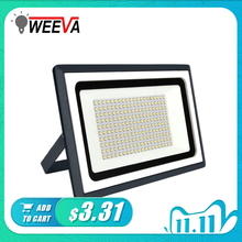 LED זרקור חיצוני תאורת מקרן רפלקטור מנורת קיר 220V גן כיכר LED מבול אור 10W 20W 30W 50W 100W הארה