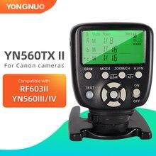Yongnuo YN560 TX II Wireless Flash Trigger Controller Trasmitter for Yongnuo YN 560III YN560IV Speedlite for Nikon Canon DSLR