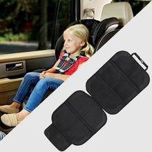 Cubierta de asiento de coche Oxford asiento de cuero PU Protector de niño bebé almohadillas de la protección Mat para bebé protección para niños cojín