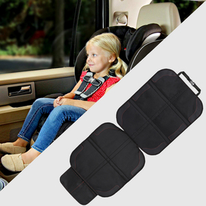 Car Seat Cover Oxford PU Leather Car Seat Protector Mats Child Baby Pads Seat Protective Mat For Baby Kids Protection Cushion(China)