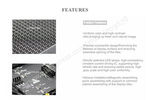 Image 5 - Free Shipping P2.5 Indoor HD Full Color Led Video Screen Module Interior Stage Background Large RGB Panel