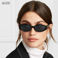 AOZE New sunglasses brand fashion ladies sunglasses small Fr