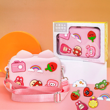 Gift good things students NBX children small bag cross-body bag girl fashion lovely web celebrity new baby girl purse foreign ca