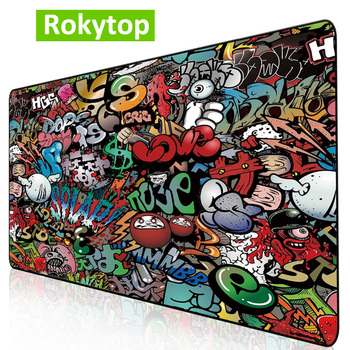 Gaming Mouse Pad Large Computer Mouse Pad Anti-slip Mousepad Gamer XL XXL Mause Carpet PC Desk Mat keyboard pad carpet for mouse new arrival slim elegant anti slip aluminum alloy computer gaming mouse pad mat mousepad