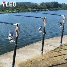 YLEO Automatic Lifting Sea Fishing Rod 2.1m 2.4m 2.7m Spinning Telescopic Spring Pole Outdoor River Lake
