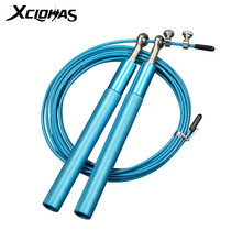 XC LOHAS Bearing Skipping Rope Jumping Rope Crossfit Men Steel Wire Home Gym Exercise Fitness MMA Boxing Training Lose Weight
