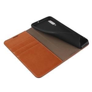 Image 5 - الطبيعي جلد طبيعي الجلد محفظة قلابة كتاب غطاء إطار هاتف محمول على لسامسونج غالاكسي A20 A30 A50 A30S 2019 A 20 30 50 S 32/64 GB